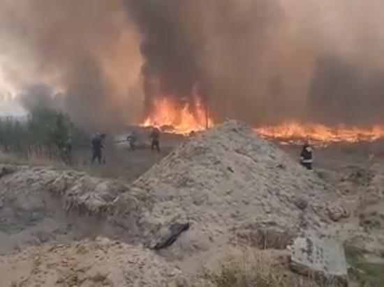 Армия выделила людей и технику для тушения лесных пожаров в Тюменской области