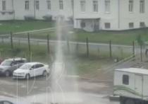 Кемеровчане остались без воды из-за забившего из-под земли фонтана