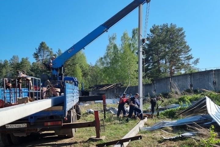 Сотрудники «Росcети Центр и Приволжье» полностью восстановили энергоснабжение жителей Нижегородской области
