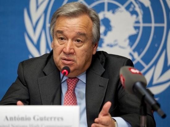Генсек ООН призвал Израиль и Палестину к переговорам о государственности