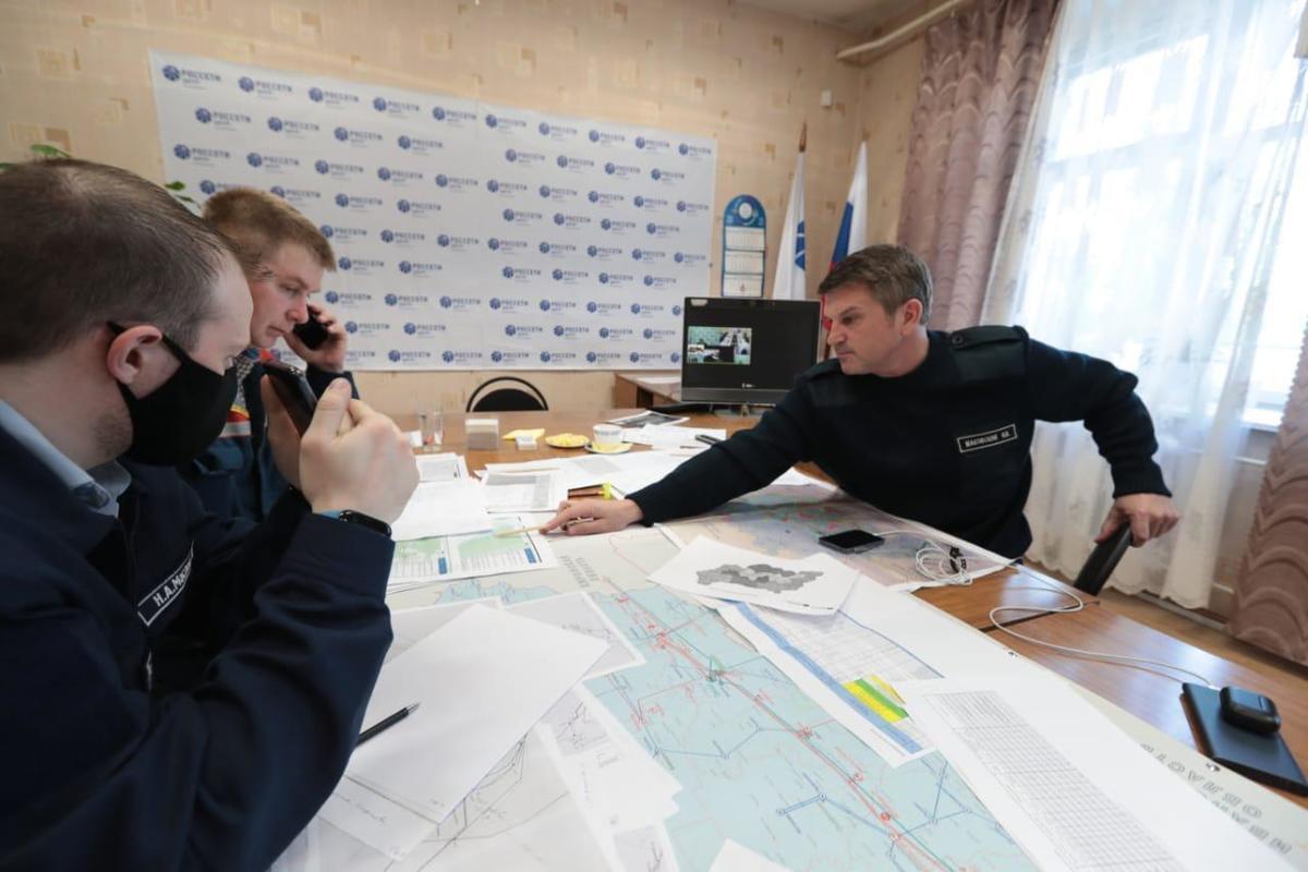 Игорь Маковский провел Штаб «Росcети Центр» и «Росcети Центр и Приволжье» в Костромской области