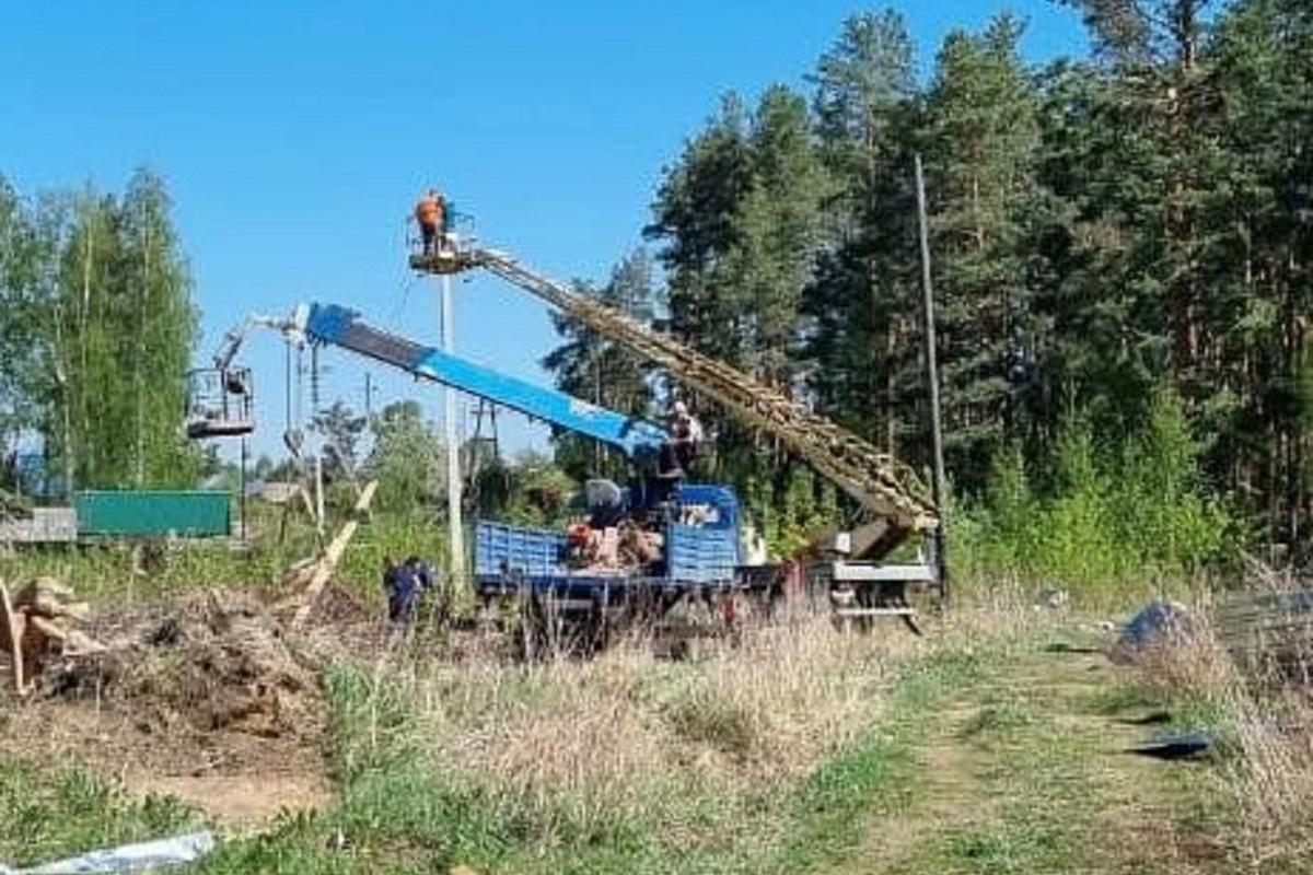 Жители Костромской области по-хорошему завидуют соседям-нижегородцам, которым энергетики уже дали свет