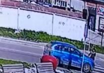 """В Новосибирске водитель """"Lada"""" сбил женщину на пешеходном переходе"""
