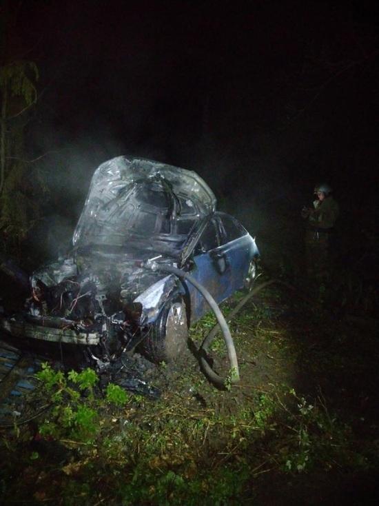 В Тверской области пассажир «Audi» погиб в ДТП