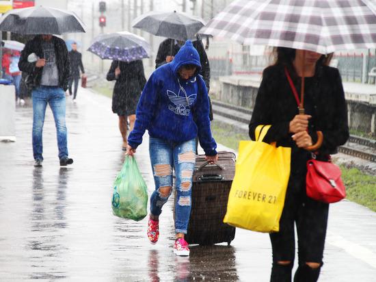 Жара в Москве в среду сменится ливнями