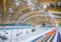 Как сообщили строители, в новом спортивном комплексе установлено около 600 штук