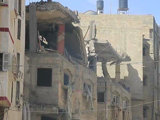 ВВС Израиля разбомбили штаб Службы внутренней безопасности ХАМАС