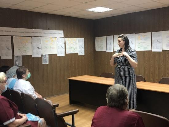 Лидер волонтеров Твери встретилась с активными жителями Бежецкого района
