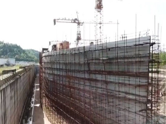 Китай заканчивает строительство копии Титаника