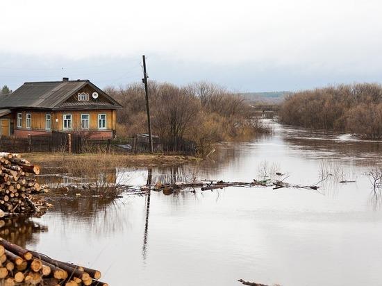 17 приусадебных участков оказались подтоплены в Томской области