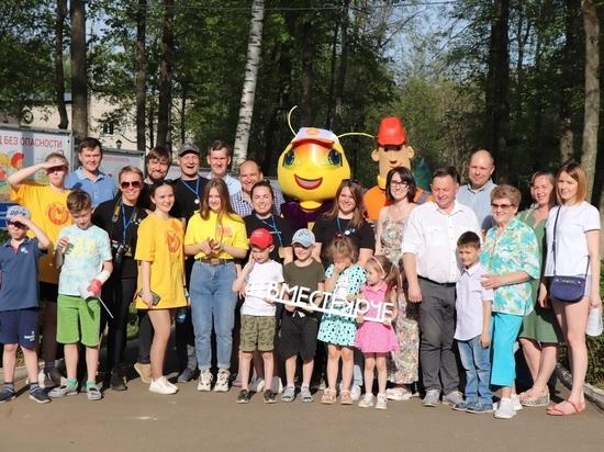 Кировские энергетики открыли для юных жителей региона «Город без опасности»