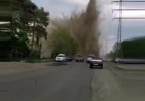Днем в понедельник, 17 мая в Бийске произошла коммунальная авария.