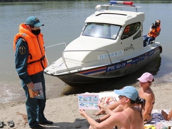 Алтайские спасатели напомнили об опасности купания в неположенных местах