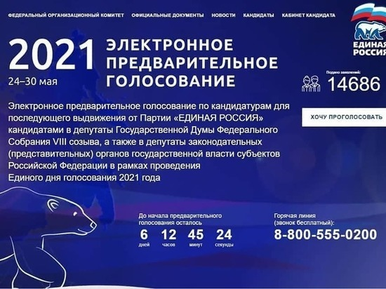 Жителей Серпухова приглашают принять участие в предварительном голосовании