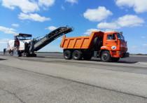 В международном аэропорту Барнаула завершили очередной этап планового ремонта взлетно-посадочной полосы.