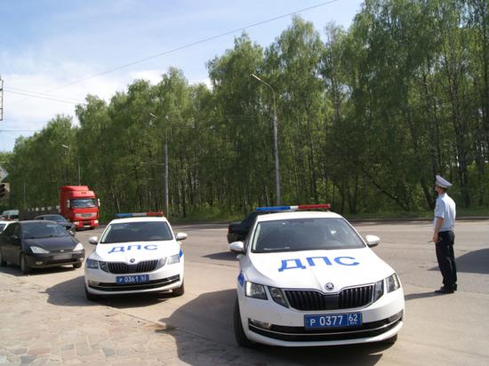 Рязанские автоинспекторы задержали 95 водителей за нарушения по тонировке