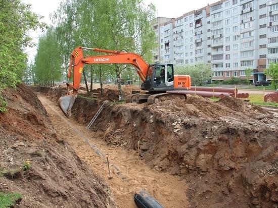 В Пскове началась масштабная реконструкция улицы Кузбасской Дивизии
