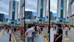 Очевидцы сняли видео закачавшегося небоскреба в Китае