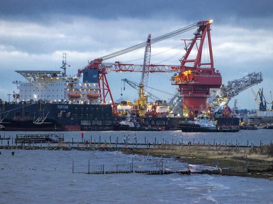 До запуска российского газопровода осталось чуть больше полугода
