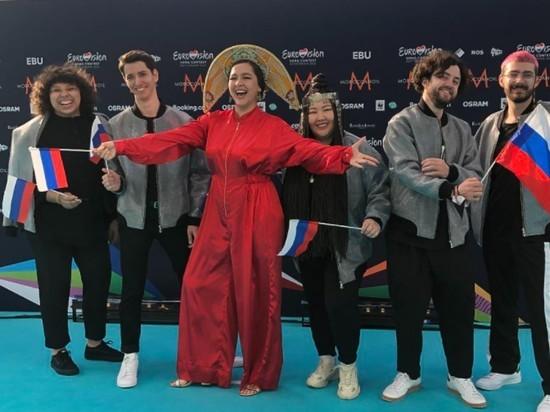 Администрации конкурса понравилась песня российской исполнительницы