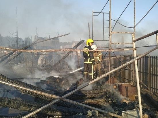 Жара спровоцировала крупные пожары в Екатеринбурге