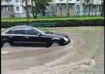Почему в Бельцах городские улицы превратились в реки