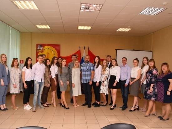 Первое заседание молодёжного парламента прошло в Серпухове