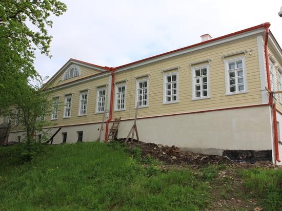 В Пскове завершается реставрация усадьбы Беклешова