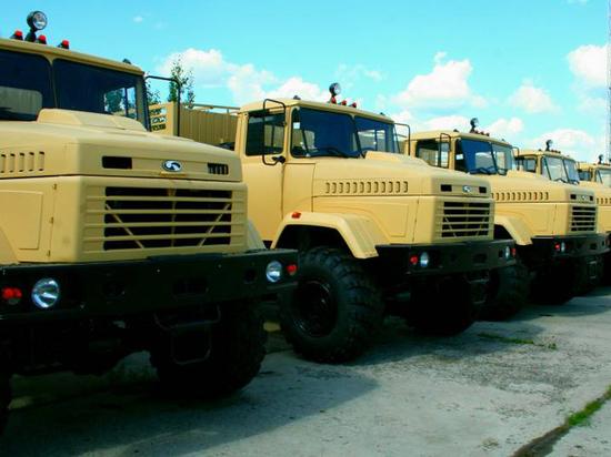 Сами американцы эксплуатировать грузовики не будут. Передадут союзникам и миротворцам ООН