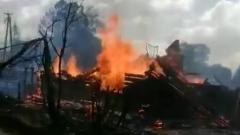 В Новгородской области пожар уничтожил часовню 18 века