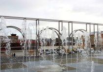 В Кинешме начал работать сухой фонтан в Молодежном сквере