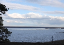 Уровни воды в реке Лена у Якутска снижаются