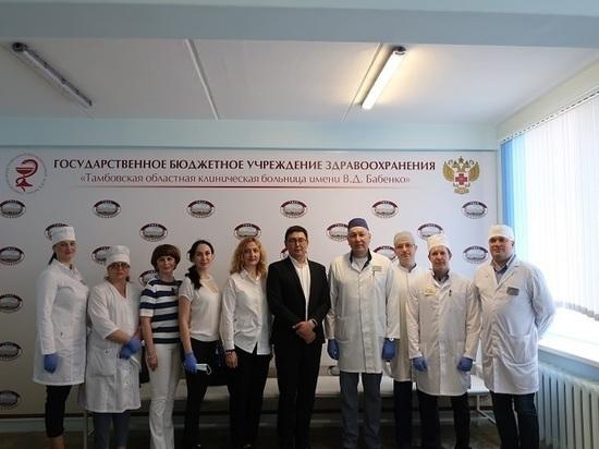 Столичные эксперты дали высокую оценку врачам Тамбовской областной больницы