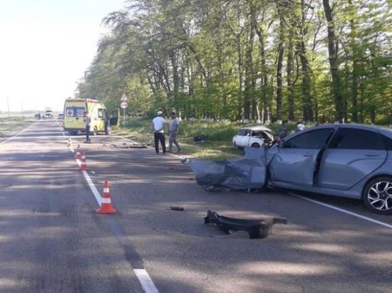 Двое жителей Кубани погибли в ДТП в Адыгее