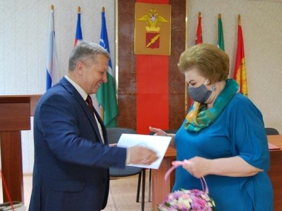Лучших работников военкомата наградили в Серпухове
