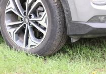 Иваново: припарковался на травке - штраф