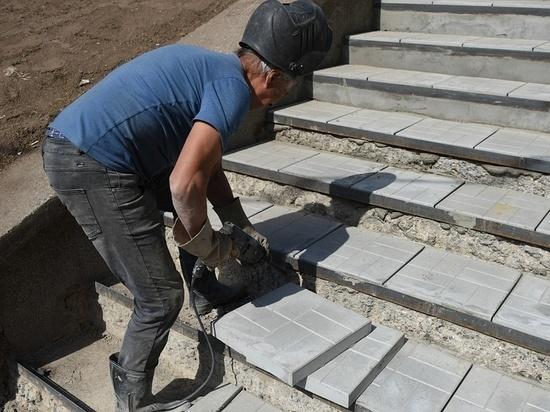 В Кирове ремонтируют лестницы