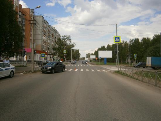 В Архангельске произошло ДТП, в результате которого пострадал пешеход