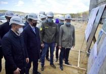 В микрорайоне Кангалассы города Якутска строится школа-сад