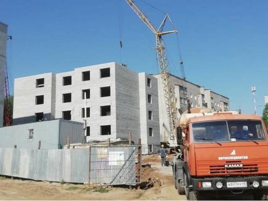 В Кировской области строят дом для переселенцев из аварийного жилья
