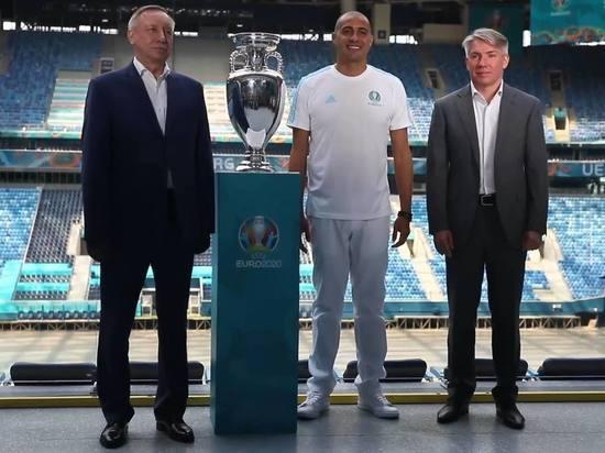 Трезеге и Беглов представили Кубок ЕВРО-2020