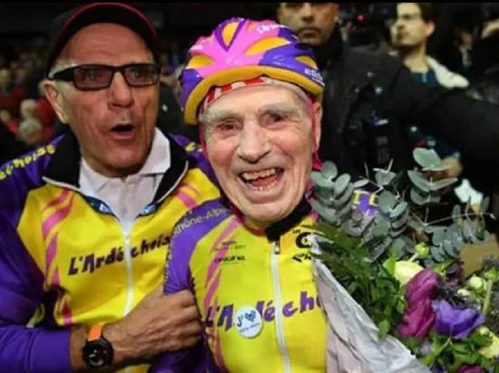 Самый пожилой велогонщик в мире умер в возрасте 109 лет