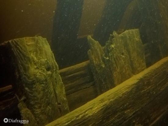 Дайверы из Орла обнаружили у Валаама затонувший корабль