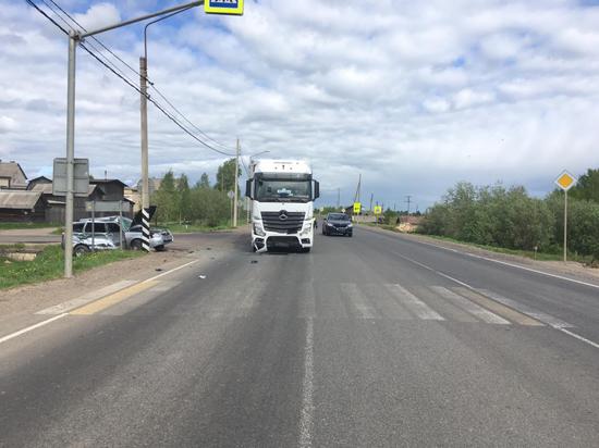 В результате ДТП на трассе М-8 пострадал пенсионер