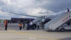 Опубликовано видео из посаженного Лукашенко самолета с Протасевичем