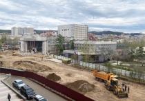ТГК-14 в июне закончит замену теплотрассы возле драмтеатра в Чите