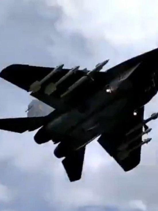 Стал известен внушительный боекомплект  МиГ-29 ВВС Белорусcии, посадившего Ryanair