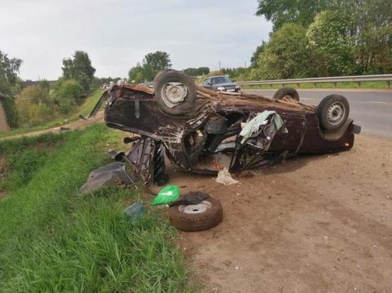 В Кировской области случилось тройное ДТП с пятью пострадавшими