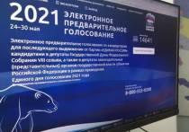 Электронное предварительное голосование партии «Единая Россия» стартовало В Томской области