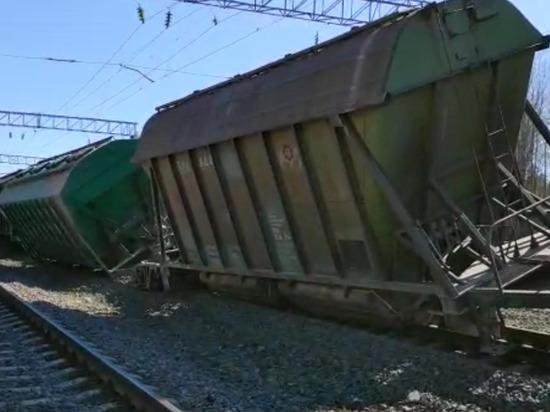 После схода вагонов на станции Заделье возбуждено уголовное дело